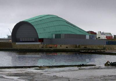 New Cinema and Music Venue for Shetland Arts