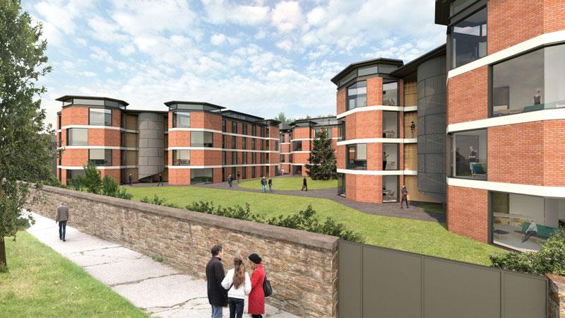 Undergraduate Housing at Dartry Park Student Village, Trinity College Dublin